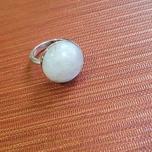 Moonstone silver 925 ring size 5.5